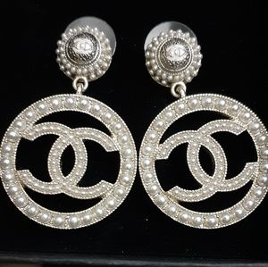 Slightly used Authentic Chanel earrings